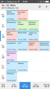 iPhone: App Calendars 5