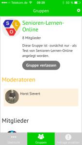 Screenshot App leichtR auf iPhone