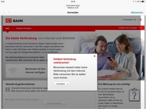 Screenshot vom iPad