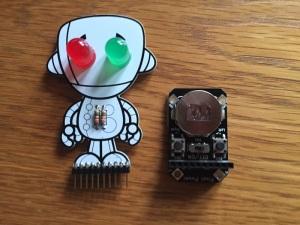 Pixel Pal Chip, fertig verlötet Foto Horst Sievert