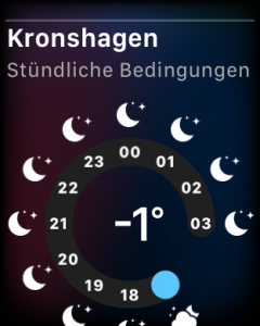 Apple Watch Wetter, Foto HoSi