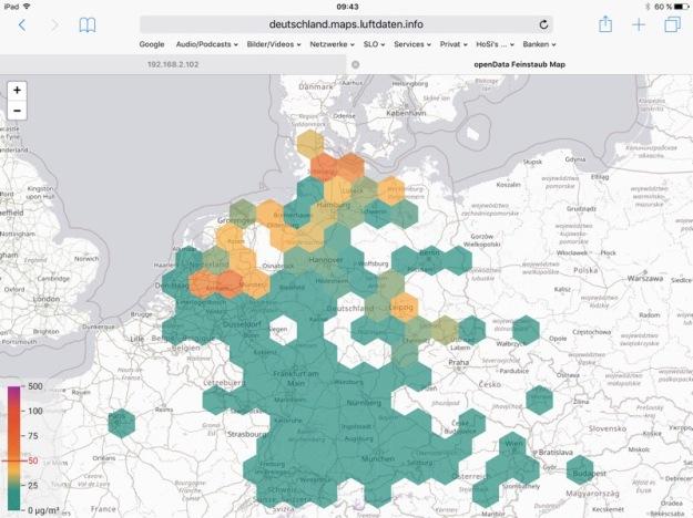 Feinstaubalarm in Norddeutschland?