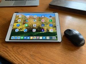 iPad mit Maus fürs Bildschirm teilen
