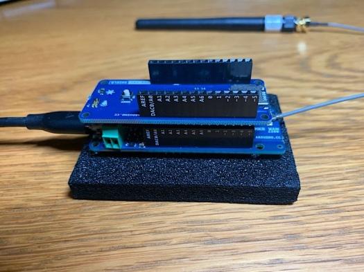Node aus Arduino MKR WAN 1300 und ENV Shield